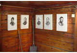 Portraits of several Decembrists in Duke Trubetskoy house