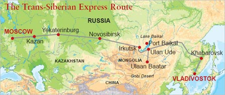 Golden Eagle: Trans-Siberian Express